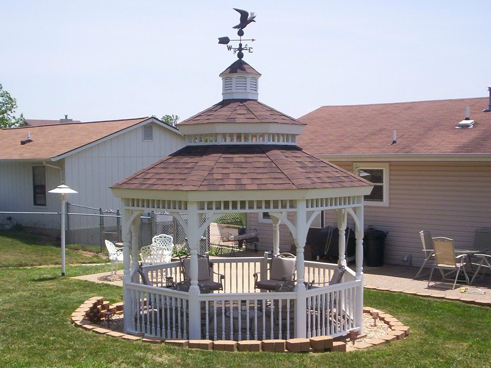 having a gazebo installed backyard and beyond is the way to go