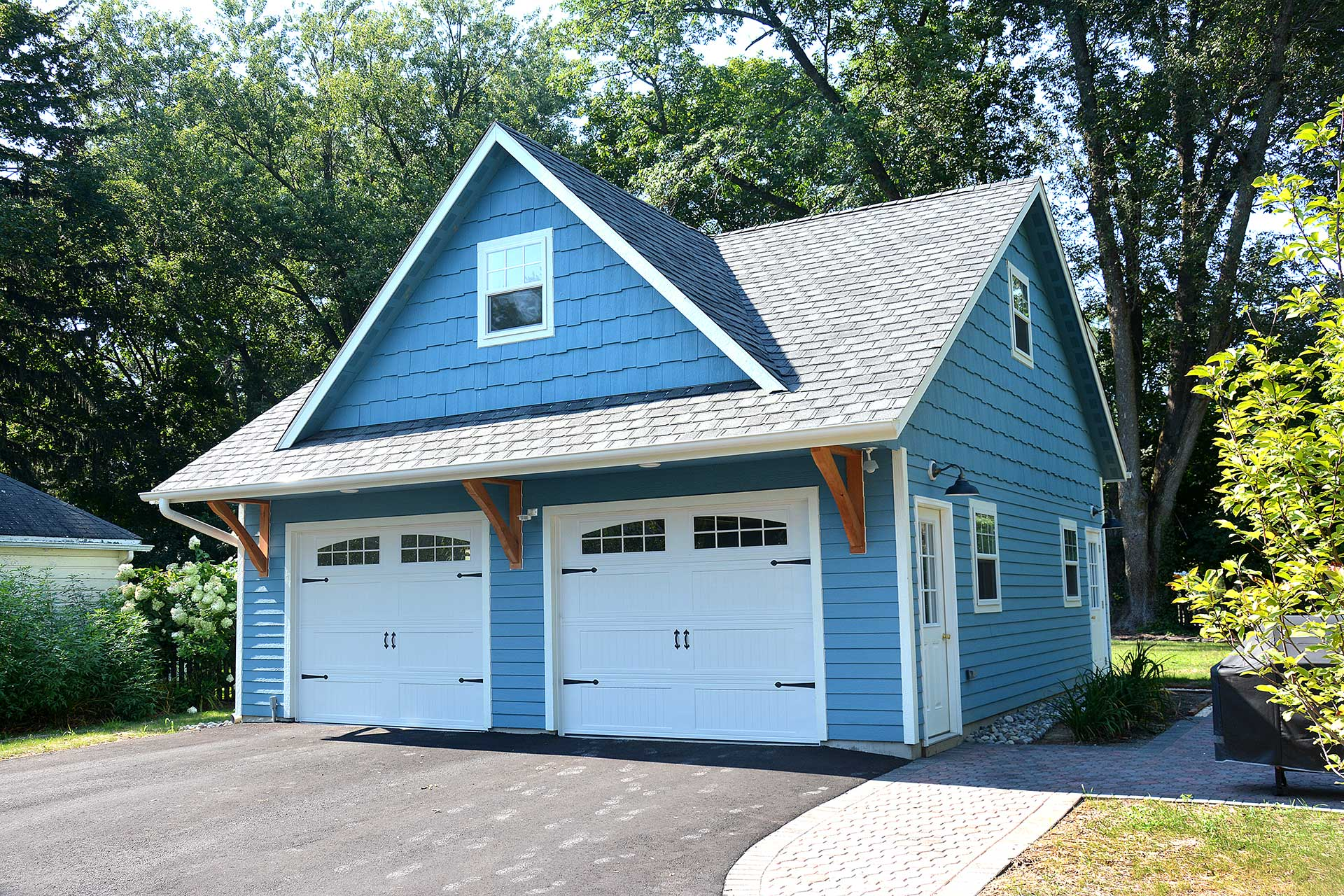 ways amish structures facilitate to garage car two wide easy garages homestead
