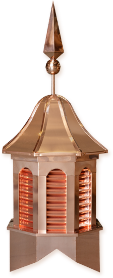 Pinnacle Copper (with finial)