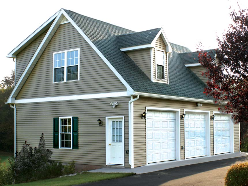 Prefab Garages to Custom Amish Built Garages   Backyard ...
