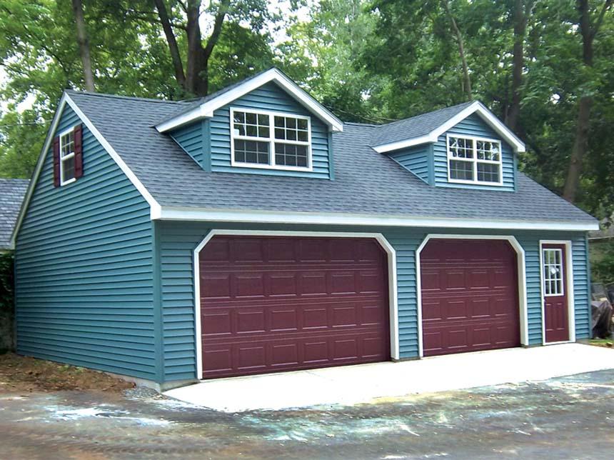 Custom Garages - Backyard & Beyond