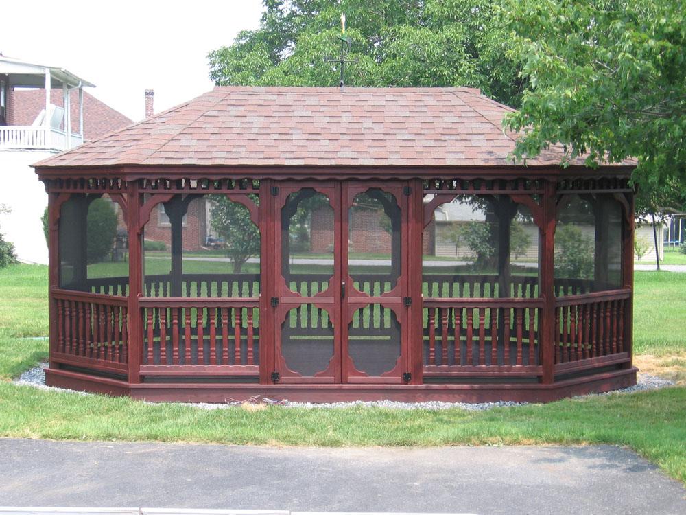 Wood Gazebos Backyard Amp Beyond