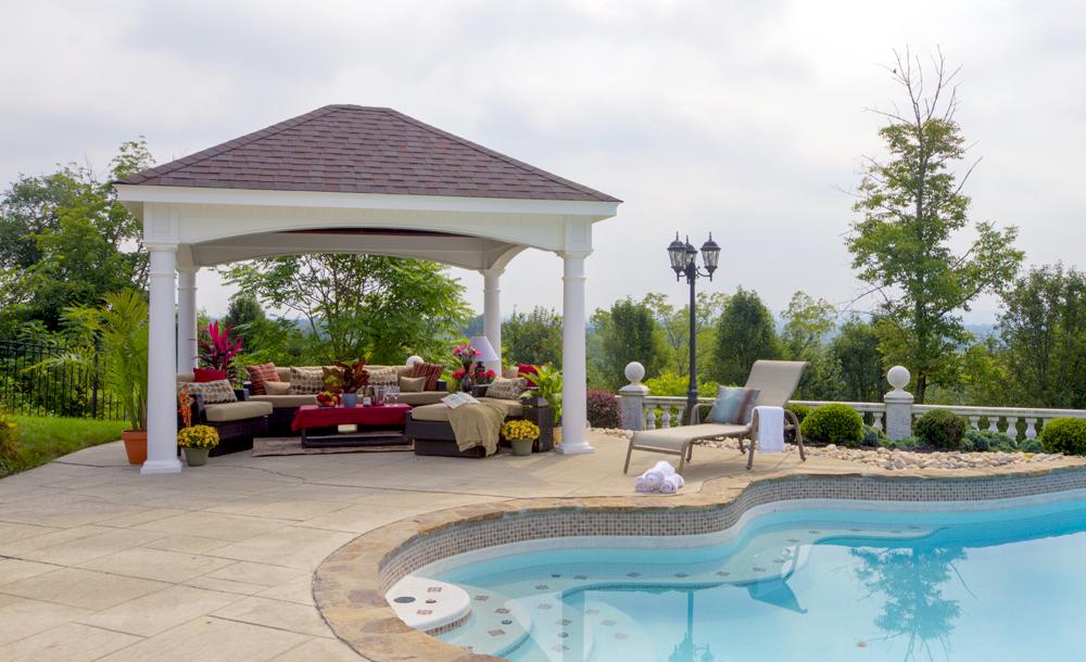 Hampton Pavilions | Backyard & Beyond