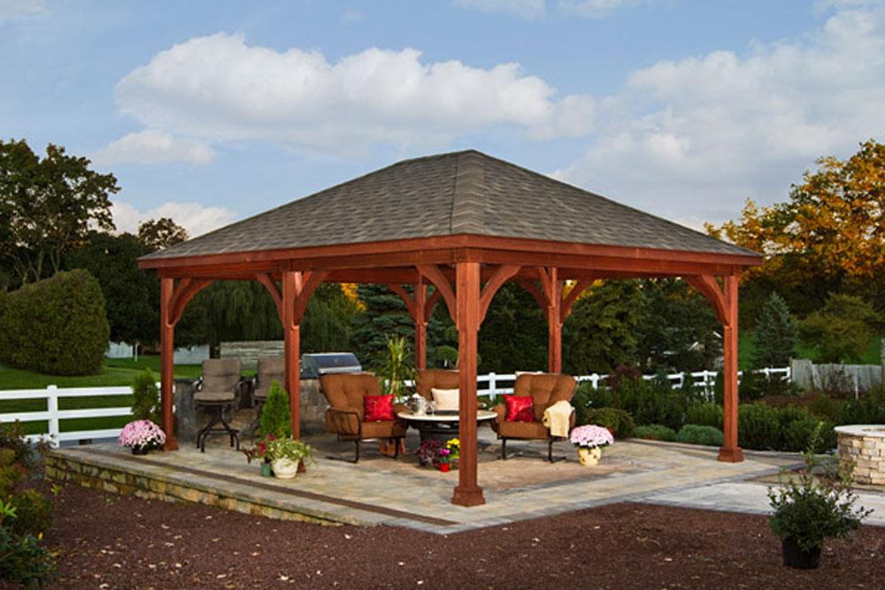 Hampton Pavilions Backyard Beyond