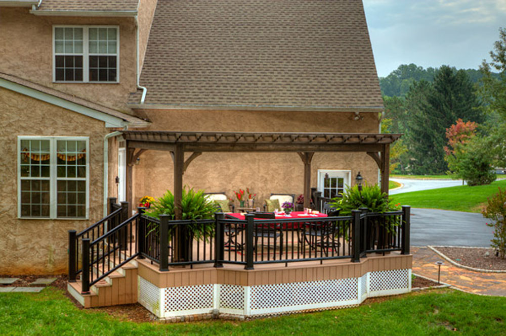 12x16 Traditional Wood Pergola - Backyard & Beyond, LLC
