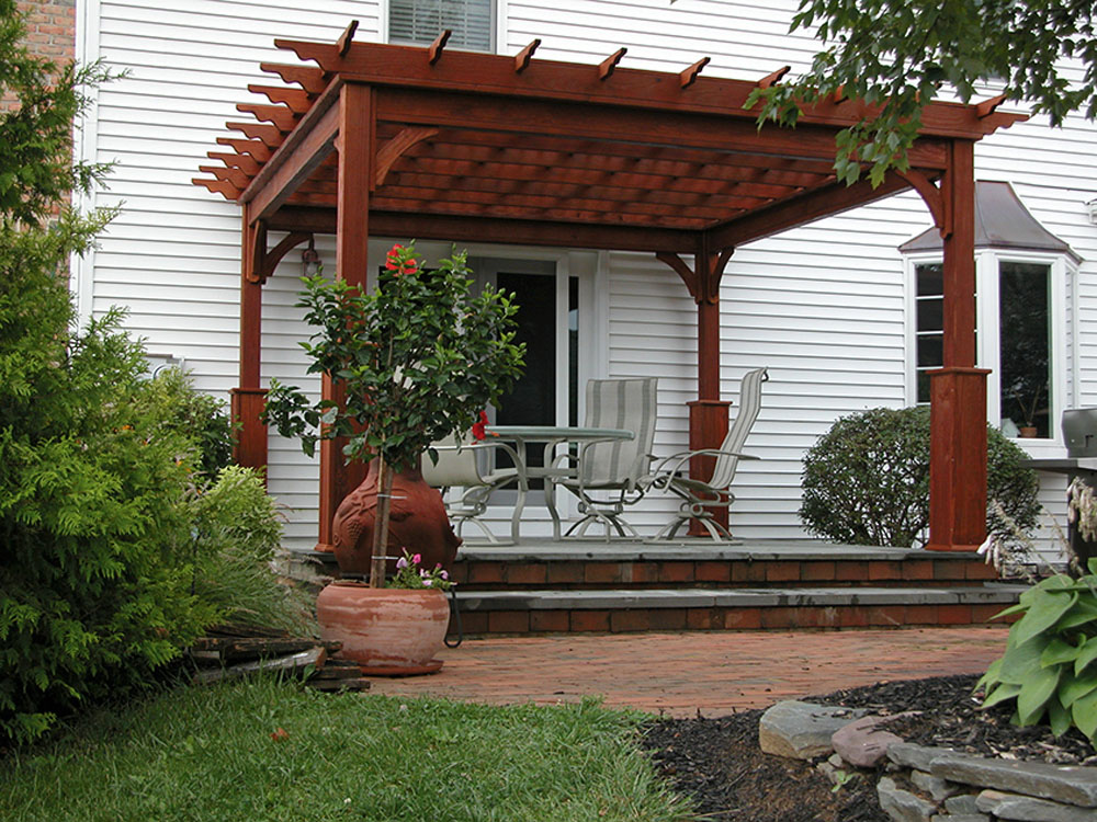 12x12 Traditional Wood Pergola - Backyard & Beyond, LLC