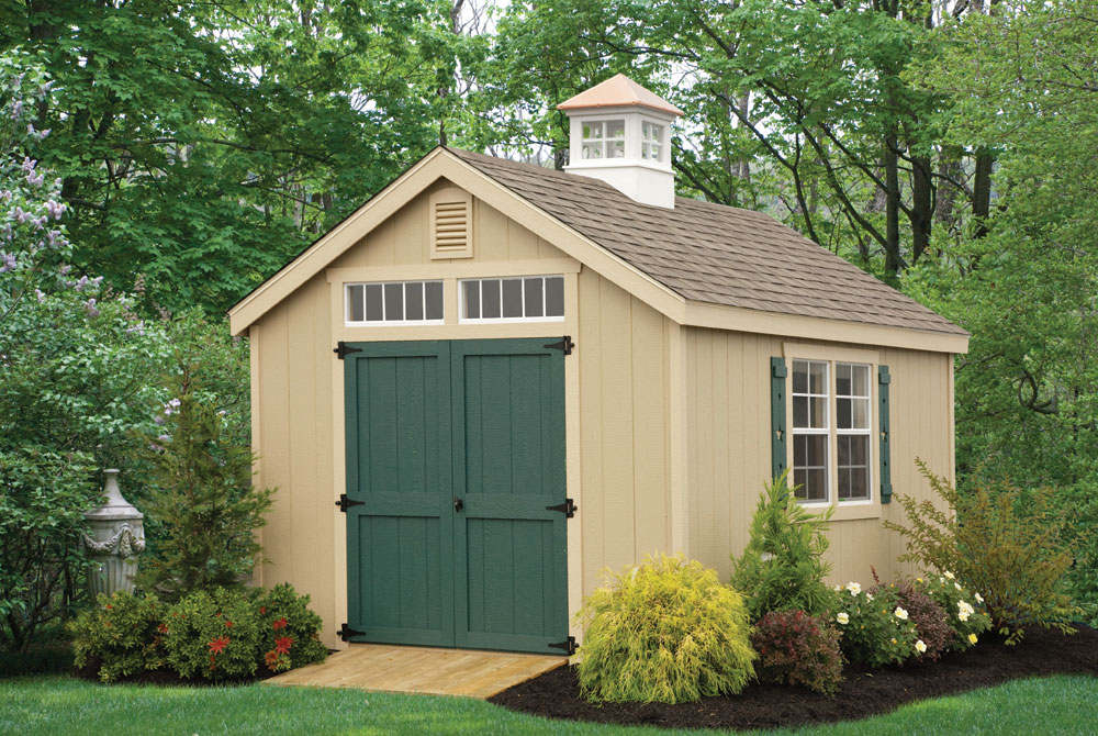 Wood outdoor sheds shed plans for Garden shed pictures